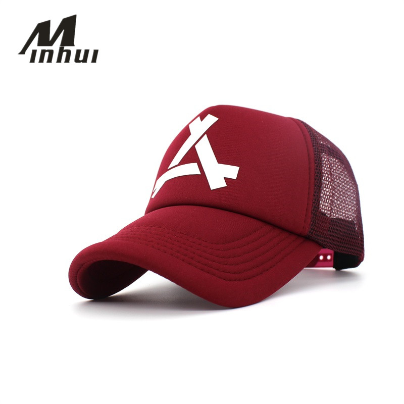 Minhui New Summer Baseball Cap Mesh Caps Women Snapback Hats for Women Men Casual Casquette Gorras Hip Hop women s baseball caps 2018 autumn and winter flat cap hats for women girls england style solid casual casquette hat women gorras