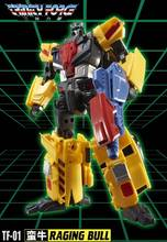 [Show.Z Store] TFC Toys Trinity Force TF-01 RAGING BULL VICTORY ROAD CAESAR LASTER Transformation Action Figure