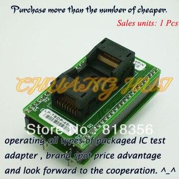 LP-TSOP-48PIN Programmer Adapter For LEAPER-48 Programmer Adapter TSOP48 IC Test Socket/IC Socket program test new tsop48 on line test socket smd welding tsop48 tsop48 ic socket adapter pitch 0 5mm