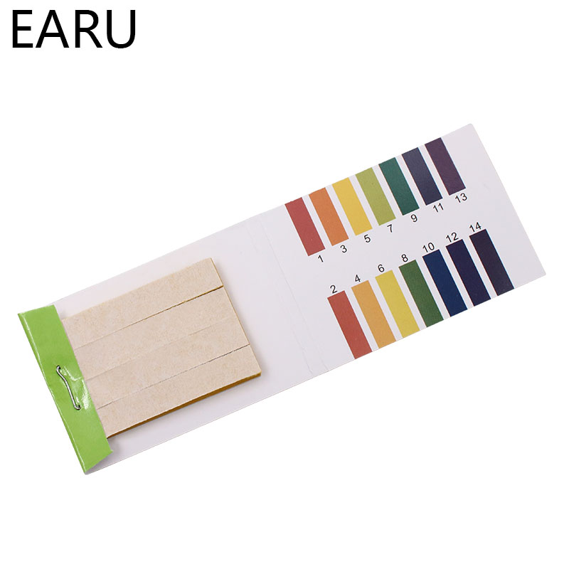 80 Strips/pack PH Test Strips Full PH Meter PH Controller 1-14st Indicator Litmus Tester Paper Water Soilsting Kit Factory