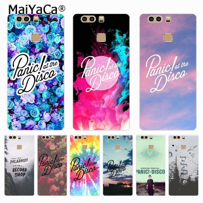 MaiYaCa Panic at the Disco Fashion phone case cover for Huawei P9 p6 p7 p8 p10 plus case Cover for xiaomi 3 4case