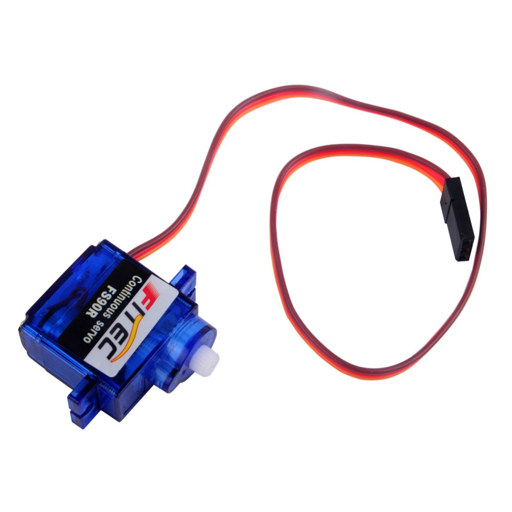 50Pcs Feetech FS90R Servo 360 Degree Continuous Rotation Micro RC Servo Motor with Wheel For Robot RC Car Drones FZ0101 01 in Propulsion from Consumer Electronics