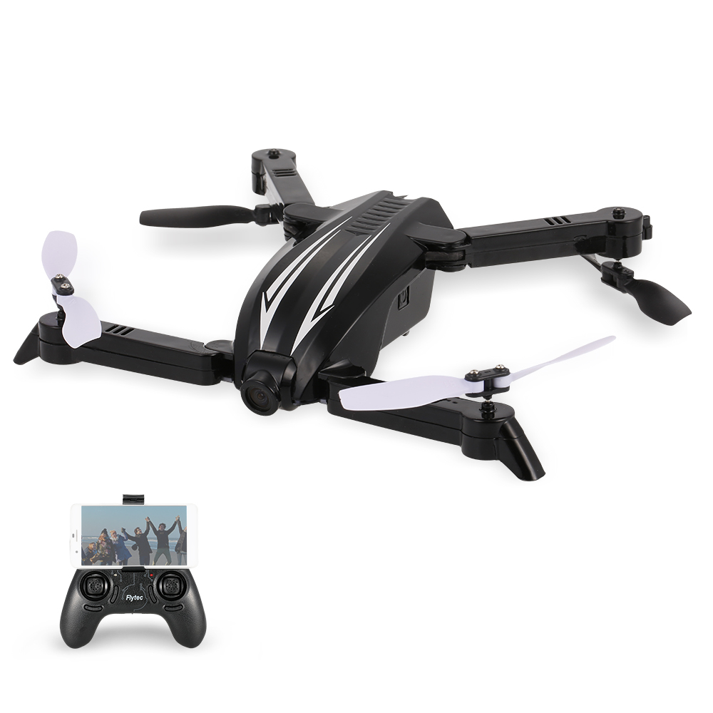 Flytec T13 WiFi FPV 720P FOV Wide Angle Camera Foldable RC Quadcopter Height Hold Selfie Drone Remote Control Helicopter Drones rc drone with camera wide angle 720p wifi selfie drone fpv quadcopter rc helicopter foldable dron remote control toys for kids