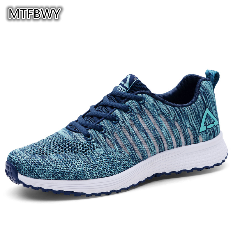 Mens Breathable Running Shoes lace-up Black Trainer Sport shoes for male men sneakers size 39-44 8026s