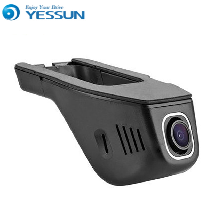 For Skoda Octavia2 / Car Driving Video Recorder DVR Mini Control APP Wifi Camera Black Box / Registrator Dash Cam Original Style