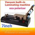 Automático curva pantalla táctil oca máquina de laminación película 7 pulgadas de pantalla lcd de reparación para iphone6plus 5S polarizador