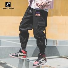 New Fashion Joggers Pants Men Streetwear Camouflage Army Pants Hombre Loose Fit Multi Pockets Hip Hop Cargo Pants Men