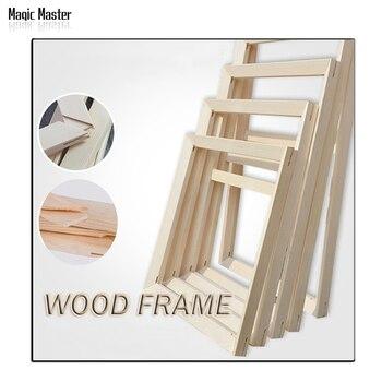 מחיר מפעל חליפה לכל סוגי שמן diy מסגרת עץ ציור תמונה מסגרת תמונת ציור קיר מסגרת עץ דלת עבה קמורה