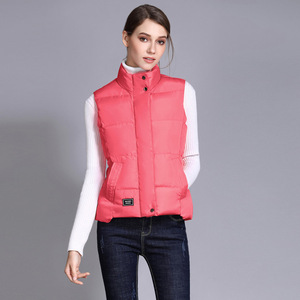 Image 3 - Seenimoe Women Waistcoat Winter Cotton Vest Coat Womens Solid Color S 3XL Female Top Quality Vest Sleeveless Jacket