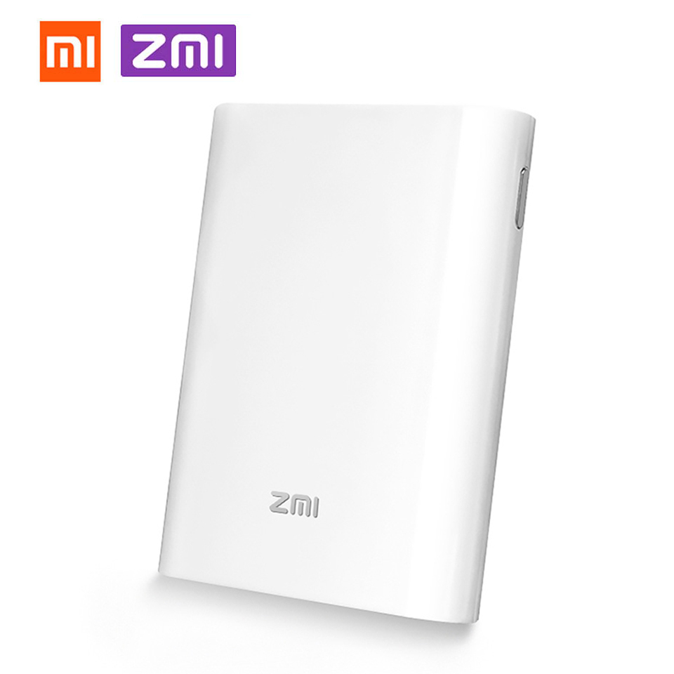Xiaomi ZMI MF855 4G LTE Mobile WiFi Hotspot Router 7800mAh Battery Power Bank