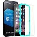 Protetor de tela para iphone 7/7 plus, esr 0.33mm anti blue-ray força triplo temperado vidro protetor de tela com frete ferramenta