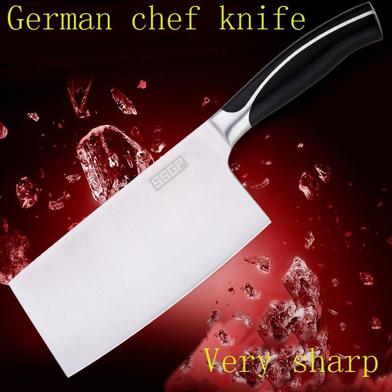 ᑐNuovo Sharp coltello da cucina giapponese 7 chef coltello in ...