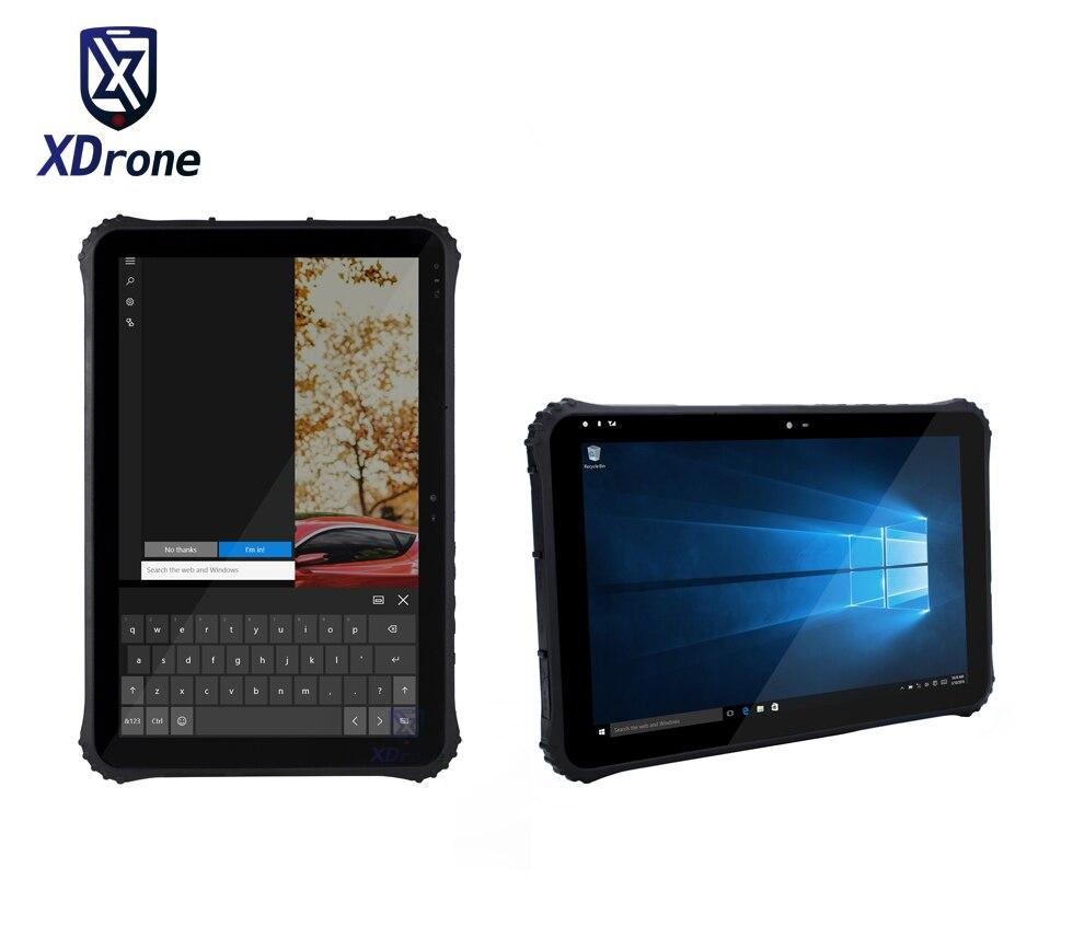Оригинальный K22 жесткие Tablet PC полиции прочный Водонепроницаемый Windows 10 Intel 12,2 Экран 4G RAM 6 4G B Встроенная память RS232 13000 мАч одной сим