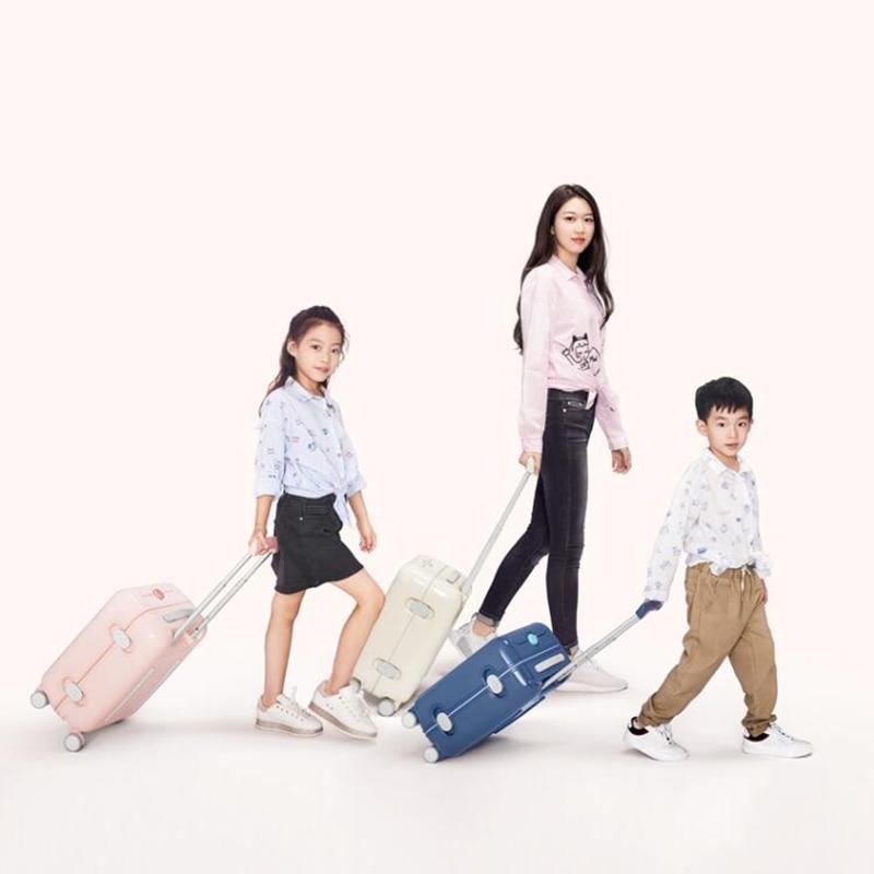 """旅行物語 17 """"インチ子供スーツケースに小さなキャリートロリー荷物袋  グループ上の スーツケース & バッグ からの キャスターバッグ の中 2"""