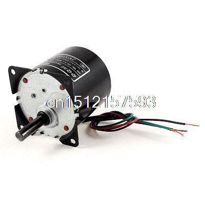 AC 110V 0.2A 3W 130r/min Speed 8mm Shaft Diameter Synchronous Gear Motor 70ktyz ac 220v 110v 0 19a 30w 8mm shaft