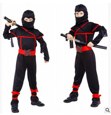Classic Halloween Costumes Cosplay Costume  ninja Costumes for kids Fancy Party decorations supplies children gifts