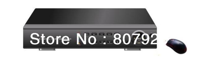 H.264 compression 16CH FULL real-time CIF standalone DVR,Support RS-485 PTZ control,USB,Support 2 SATA  HDD