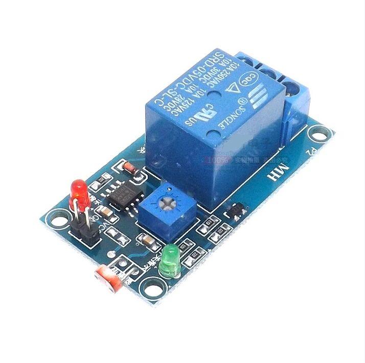 Ldr Relay Circuit