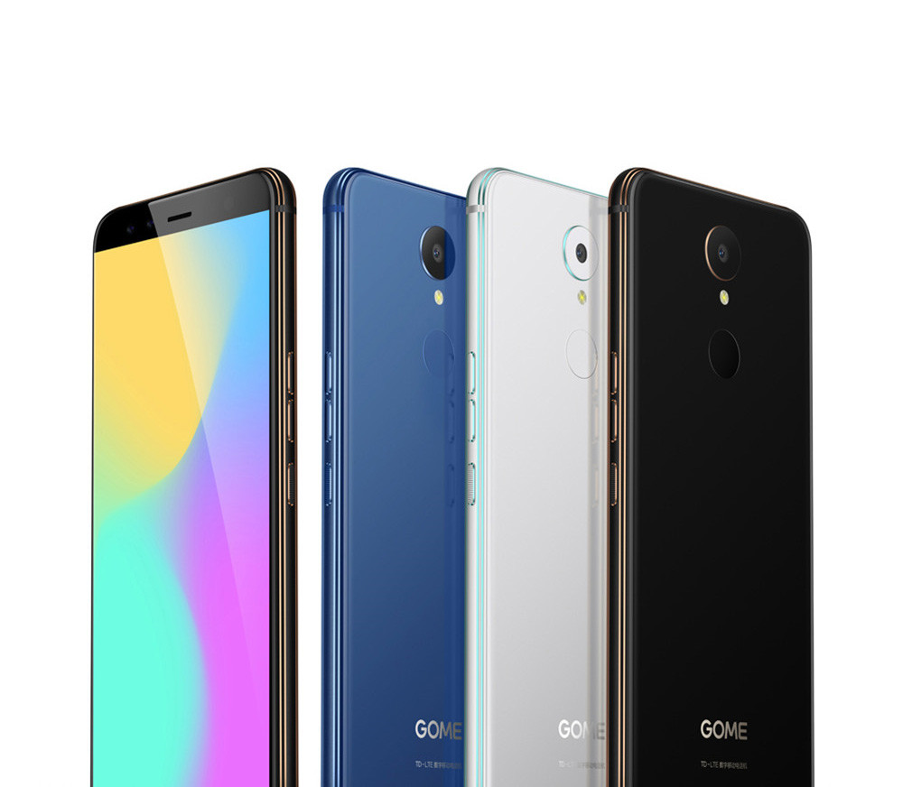 GOME K1 5.2 Inch FHD Screen 4GB RAM 64GB/128GB ROM Helio P20 MTK6757 2.3GHz Octa Core Android 6.0 Touch ID 4G LTE Smartphone