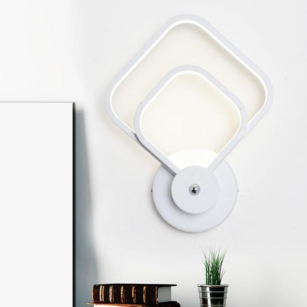 LED Wall Lamp Modern Stair Light Fixture Indoor Lighting Living Room Bedroom Bed Bedside Industrial Lamps