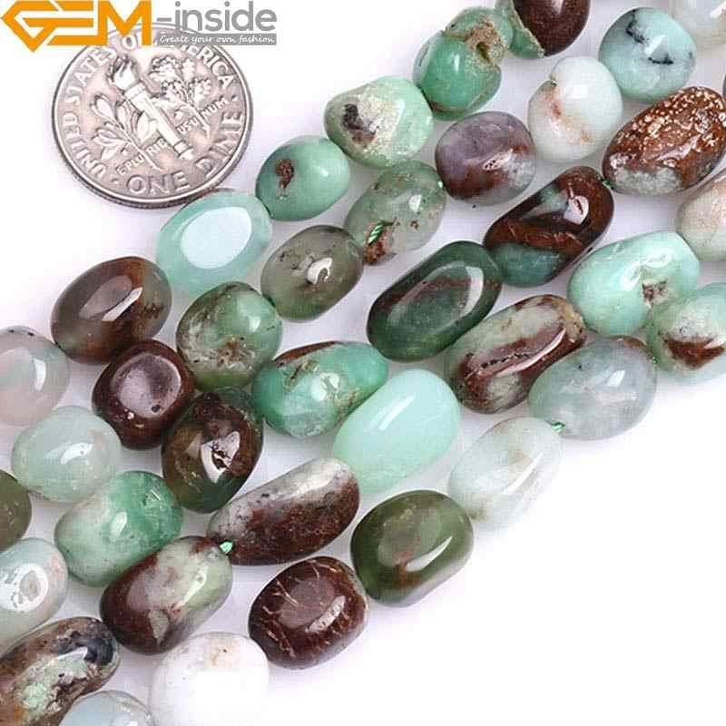 """15/"""" 6 mm 8 mm piedra preciosa piedra redonda con cuentas de jade mantequilla Craft 1 Strand Joyería Regalos"""