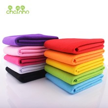 Non Woven Soft Felt Fabric Bundle,1.5mm Thickness,Polyester Felt for DIY Sewing,Decoration Material of Dolls & Crafts 45x45cm(China)