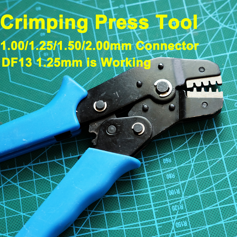RC Toy Model Connector Crimping Press Tool for 1.00/1.25/1.50/2.00mm connector, DF 13 connectors image