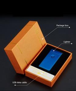 Image 4 - Duplo Arco Personl Recarregável USB Mais Leve Cigarro Eletrônico Mais Leve Isqueiro Plasma Pessoal Palse