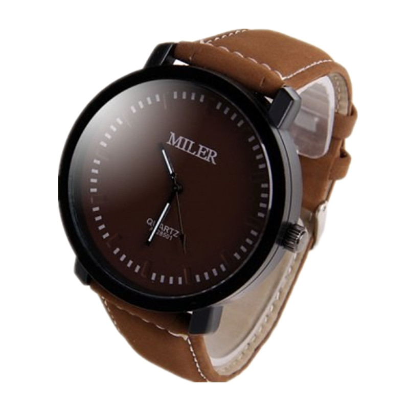 MILER Watch Men Watch Fashion Sport Mens Watches Military Men's Watch Clock saat relogio masculino relojes hombre 2017 montre doobo men watch fashion mens watches top brand luxury leather business watch men clock saat relojes hombre 2017 relogio montre
