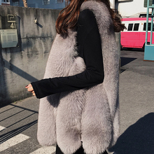 New Whole Leather Fox Fur Grass Vest Mink Coat Female Long Section Slim Slimming Autumn And Winter WomenS Jacket