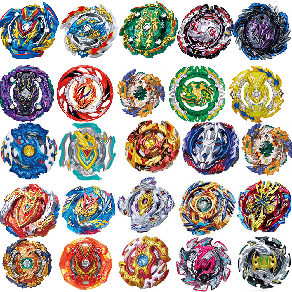 New Burst Launchers <font><b>Beyblade</b></font> Toys <font><b>B</b></font>-139 <font><b>B</b></font>-133 <font><b>B</b></font>-<font><b>134</b></font> <font><b>B</b></font>-135 Bayblade Toupie Metal Burst God Spinning Top Bey Blade Blades Toy image