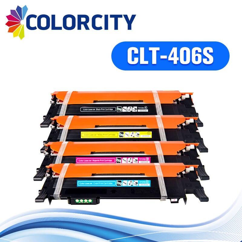1 เซ็ต CLT 406S clt 406 ตลับหมึกสำหรับ Samsung CLP 360 CLP 365w clp 360 365 CLP 368 CLX 3300 CLX 3302 3305 3306-ใน ตลับหมึก จาก คอมพิวเตอร์และออฟฟิศ บน AliExpress - 11.11_สิบเอ็ด สิบเอ็ดวันคนโสด 1