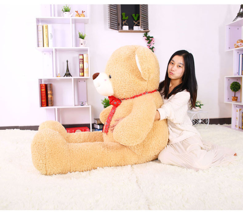 stuffed toy ,huge teddy bear 120cm plush toy fat bear soft hugging pillow, Christmas birthday gift F054 large 120cm teddy bear plush toy hug love heart plush bear doll soft throw pillow christmas birthday gift x046