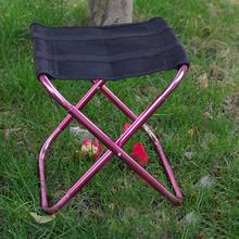 Ultra Light Mini Folding Chair Portable Seat Stool With Storage Bag for Outdoor Camping Hiking Fishing