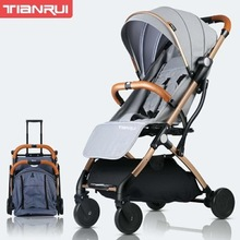 New Design High Quality Foldable Portable Travel Lightweight Baby Stroller Popular Style Baby Trolley LightWeight Baby Stroller