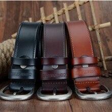 Pin Buckle Split Leather Belts