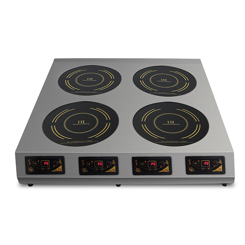 Commercial Multi Pot Induction Cooker Electric Pottery Stove High power 3500W Plane Multi head Magnetic Cooker Kitchen Equipment