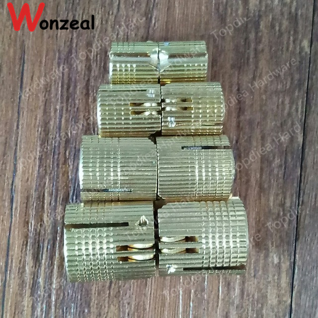 Copper Barrel Hinges Dia. 8mm/10mm/12mm/14mm Brass cylindrical door hinge hidden furniture hinge invisible installation hinge 1 pair viborg sus304 stainless steel heavy duty self closing invisible spring closer door hinge invisible hinges jv4 gs58b