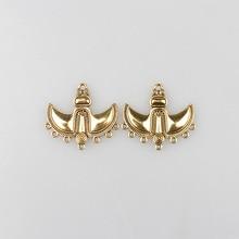 Boat Anchor Porous Linker 5pcs/lot Retro Gold Zinc Alloy Accessories For DIY Necklace Earrings Connectors Charms