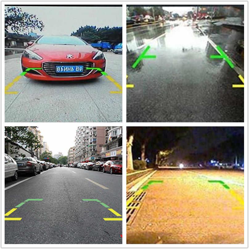 Автомобильная камера заднего вида CCD HD Автоматическая Резервная Система помощи при парковке, водонепроницаемая Система помощи при парковке