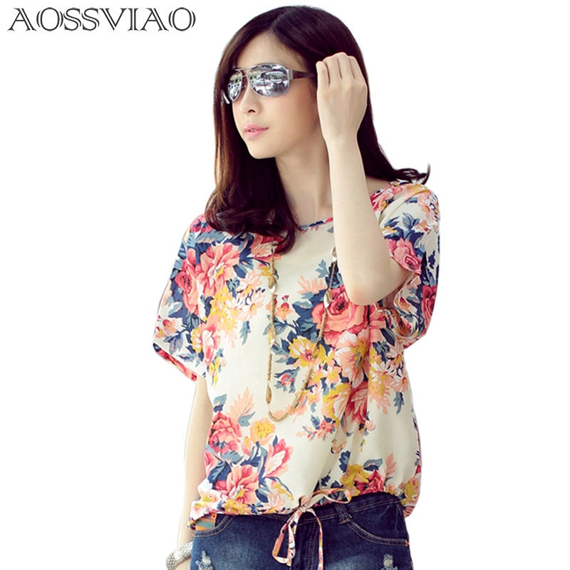 Femininas Blusas Y Camisas Mujer New Print Chiffon Blouse Women Shirt Ladies Tops Woman Clothes Plus Size Vetement Femme Chemise