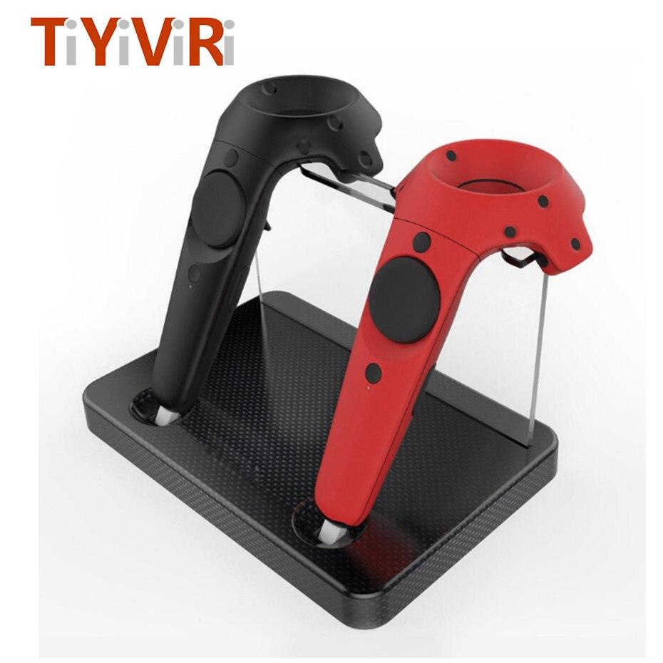 Styrenhet Laddare För HTC VIVE Controller Gamepad Dubbel Laddstation - Spel och tillbehör - Foto 6