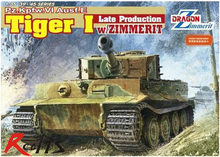 RealTS Dragon model 6383 1 35 Pz Kpfw VI Ausf E Tiger I Late Production w