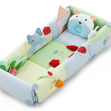 Hongkong free ship Valdera travel newborn baby bed cotton protable baby bed car travel carry lovely bed brand