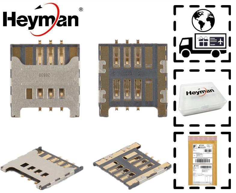 Heyman Flex Cable for Samsung E3210 I5510 I9000 I9001 I9220 N7000/7005 Galaxy S Plus Note S3350/3850 Corby II SIM Card Connector