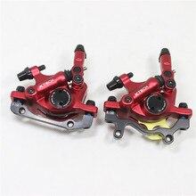 Cheaper ZOOM HB-100 mtb bike hydraulic disc brake caliper bicycle Line Pulling Disc Brake 2 color