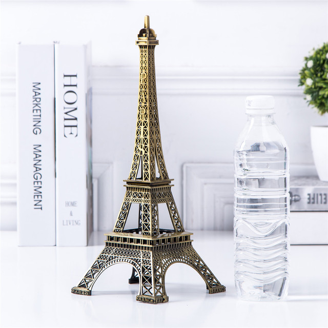Bronze Eiffel Tower Decor zinc alloy Metal Home Decoration Improvement Gift 6