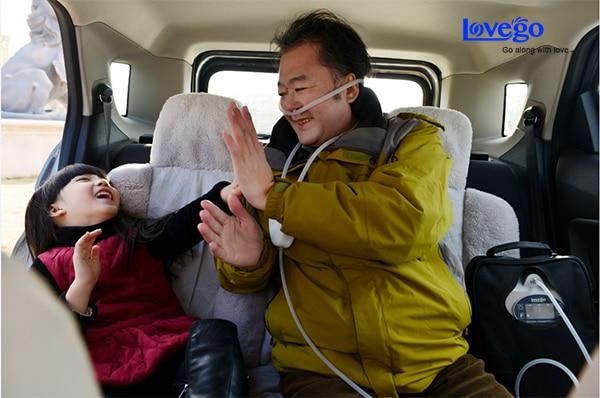 Concentrador de oxígeno portátil de 4 horas / oxígeno para ashama - Electrodomésticos - foto 5