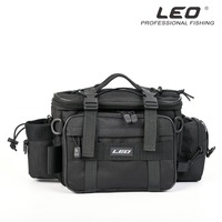 High Quality Black Multi function Waterproof Fishing Bag Men& Women Photography Package Outdoor Sport Accessories Fishing Tools