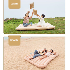 Image 4 - CARSUN 175*135CM Car Bed Camping Car Mattress Inflatable Auto Travel Bed Colchon Inflable Para Auto      Inflatable Car Mattress
